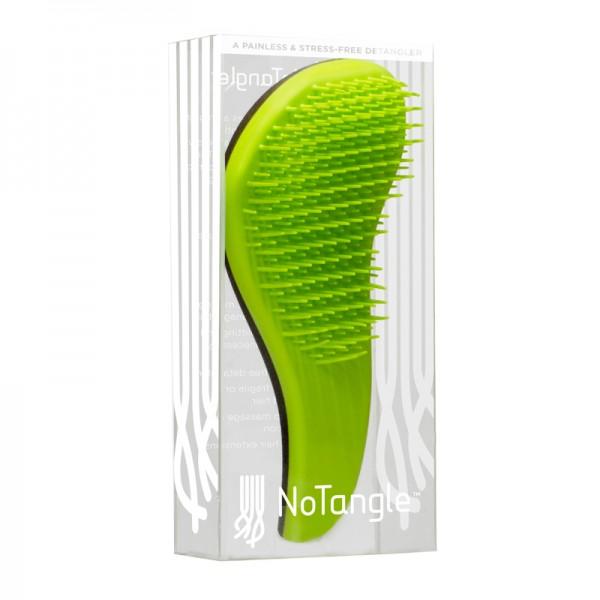 """Šepetys besiveliantiems plaukams """"NoTangle"""", žalias"""